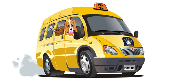Doug the pet sitter. Pet Taxi service